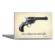 This is not a gun. Laptop Skins