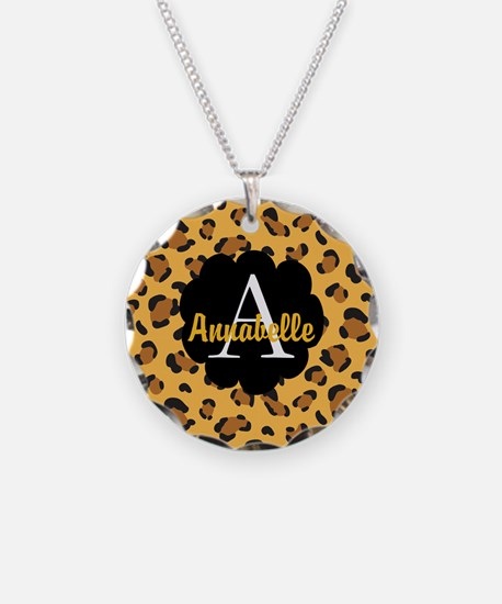 Personalized Name Monogram Gift Necklace