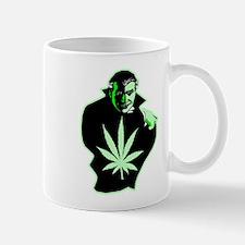 Halloween Weed Leaf Dracula Mug