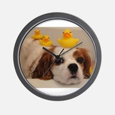 Bella with Ducks Wall Clock