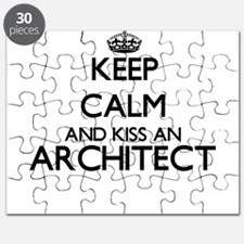 Keep calm and kiss an Architect Puzzle