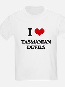 I love Tasmanian Devils T-Shirt