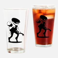 Burglar Drinking Glass