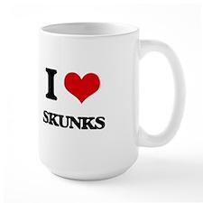 I love Skunks Mugs
