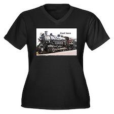 Just loco: steam train engine, A Plus Size T-Shirt