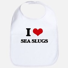 I love Sea Slugs Bib