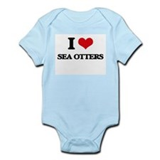 I love Sea Otters Body Suit