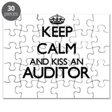 Keep calm and kiss an Auditor Puzzle