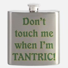 AM PIE WHEN I'M TANTRIC Flask