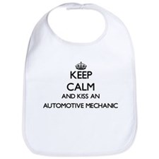Keep calm and kiss an Automotive Mechanic Bib