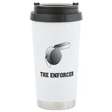 Cool Football ref Travel Mug