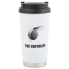 Cute Basketball referee Travel Mug