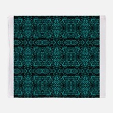 A Rich Life Tapestry 1 Throw Blanket