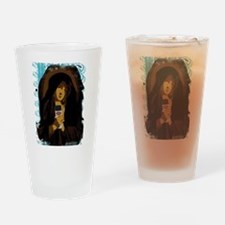 Virgin Mary Drinking Glass