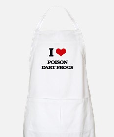 I love Poison Dart Frogs Apron