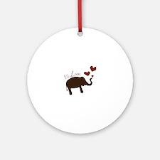 Big Love Ornament (Round)