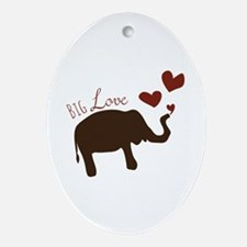 Big Love Ornament (Oval)