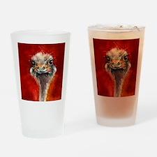 saggBottle_ostrich.jpg Drinking Glass