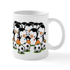 Soccer Penguins Mug