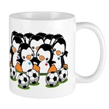 Soccer Penguins Mug Mugs
