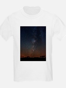 Milky Way Galaxy Hastings Lake T-Shirt