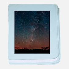 Milky Way Galaxy Hastings Lake baby blanket