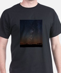 Milky Way Galaxy Hastings Lake T-Shirt