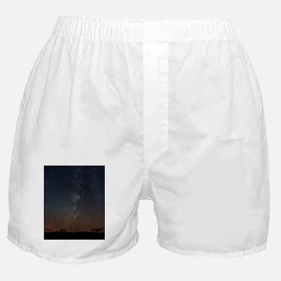 Milky Way Galaxy Hastings Lake Boxer Shorts