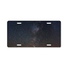 Milky Way Galaxy Hastings Lake Aluminum License Pl