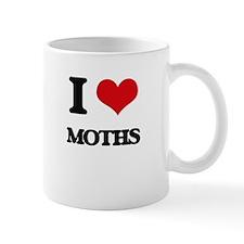 I love Moths Mugs
