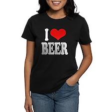 I Love Beer (word) Tee