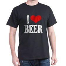 I Love Beer (word) T-Shirt