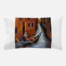Gondola Ride at Venice Pillow Case
