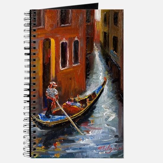 Gondola Ride at Venice Journal