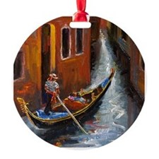 Gondola Ride at Venice Ornament