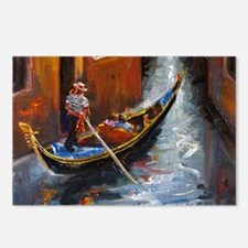 Gondola Ride at Venice Postcards (Package of 8)