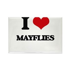 I love Mayflies Magnets
