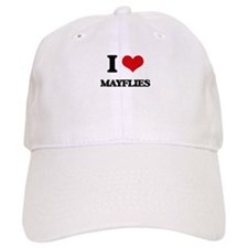 I love Mayflies Baseball Cap