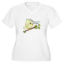 Extend An Owlive Brance Plus Size T-Shirt