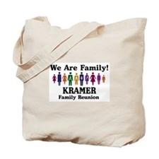 KRAMER reunion (we are family Tote Bag