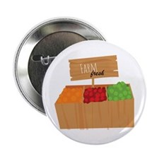"Farm Fresh 2.25"" Button (100 pack)"