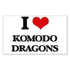 I love Komodo Dragons Decal