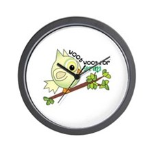 Woof Woof For Spring Wall Clock