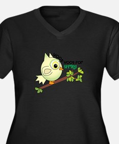Woof Woof For Spring Plus Size T-Shirt