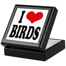 I Love Birds Keepsake Box