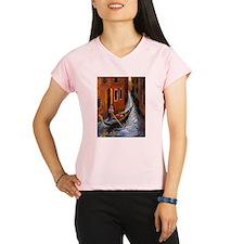 Gondola Ride at Venice Performance Dry T-Shirt