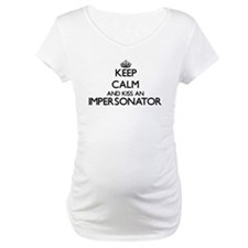 Keep calm and kiss an Impersonat Shirt