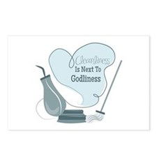 Cleanliness Is Next To Godliness Postcards (Packag