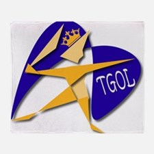THE GOAL OF LIFE (TGOL) Throw Blanket