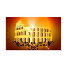 The Colosseum Car Magnet 20 x 12